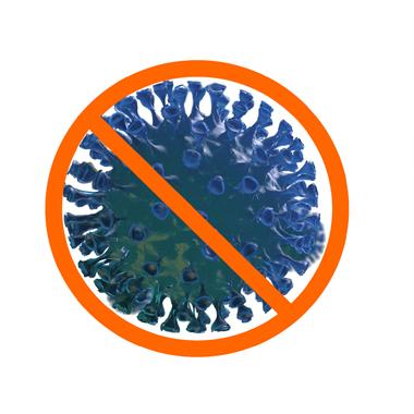 Anti covid Orange